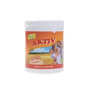 AKTIV Orzo biologico in Polvere Combatte il Colesterolo Alto