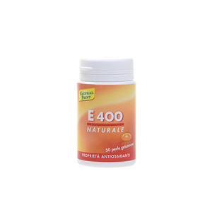 Natural Point E 400 50 Perle Rimedio Antiossidante contro lo Stress