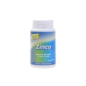 Natural Point Zinco 50 capsule Rispristina le Difese Immunitarie