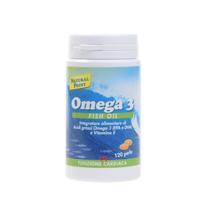 Natural Point Omega 3 Fish Oil 120 perle Colesterolo