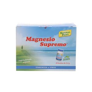 Magnesio Supremo Solubile contro Stanchezza e Stress in Bustine