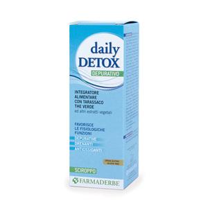 Daily Detox Integratore Azione Depurativa Disintossicante