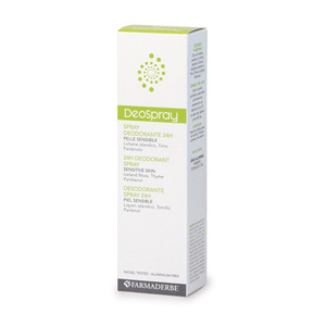 Deo Spray Deodorante Unisex No Alcol Delicato