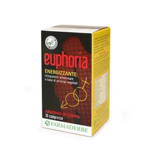 Euphoria Integratore Alimentare per i Benefici della Coppia e per l'Efficienza Psico-Fisica