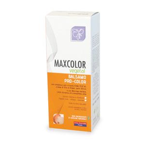 Max Hair Vegetal Balsamo Pro-Color Tattamento Specifico per Capelli Tinti e Colorati