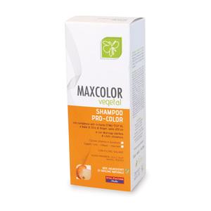 Max Hair Vegetal Shampoo Pro-Color Trattamento Specifico per Capelli Tinti e Colorati