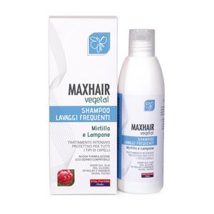 Max Hair Vegetal Shampoo Lavaggi Frequenti Adatto per Tutta la Famiglia
