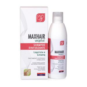 Max Hair Vegetal Shampoo Rinforzante Sostiene la Crescita e l'Allungamento dei Capelli