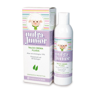 Nutra Junior Talco Crema Fluida Emulsione Idratante
