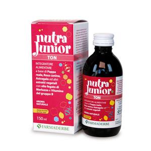 Nutra Junior Ton Integratore Naturale Tonico Ricostituente