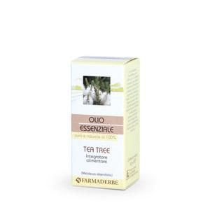 Olio Essenziale Tea Tree Integratore Alimentare Azione Balsamica Dermopurificante