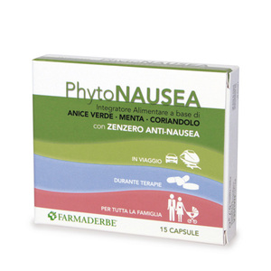 Phyto Nausea Integratore Alimentare Attività Antinausea