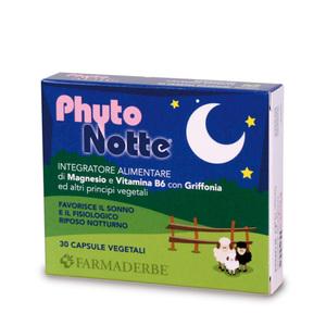 Phytonotte Integratore Alimentare Contrasta l'Insonnia anche in Menopausa