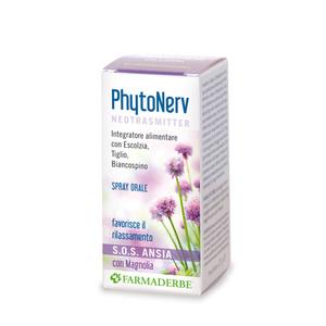 Phytonerv Neotrasmitter Sos Spray Azione Rilassante
