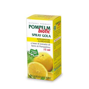 Pompelmbiotic Spray Orale Favorisce la Funzionalità della Mucosa Orofaringea