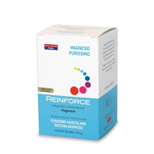 Reinforce Magnesio Purissimo rinforzo per i tessuti