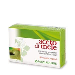 Farmaderbe Aceto di mele Drenante Depurativo Anticellulite 60 compresse