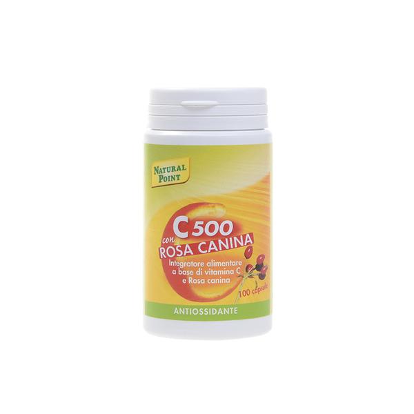 C 500 con Rosa Canina a base di vitamina C