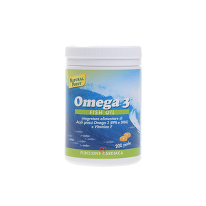 Natural Point Omega 3 Fish Oil 200 perle per il controllo del Colesterolo