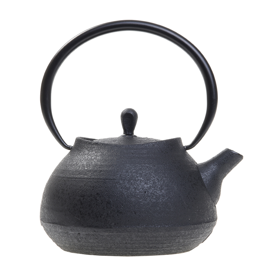 Teiera Nera Zen per Tè o Infuso