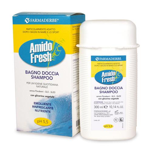 Amidofresch Bagno Doccia Shampoo per Lavaggi Frequenti
