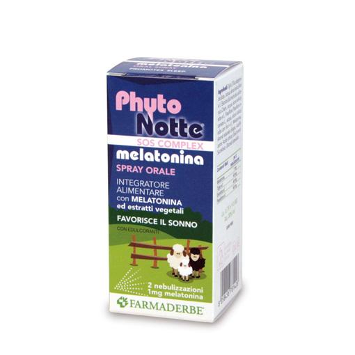Phytonotte Melatonina Sos Spray conciliatore del sonno