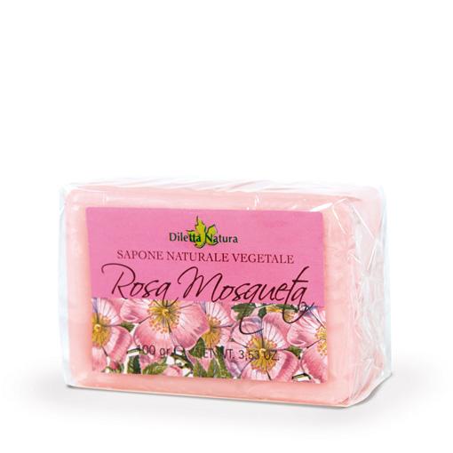 Sapone alla Rosa Mosqueta Emolliente e Dermopurificante